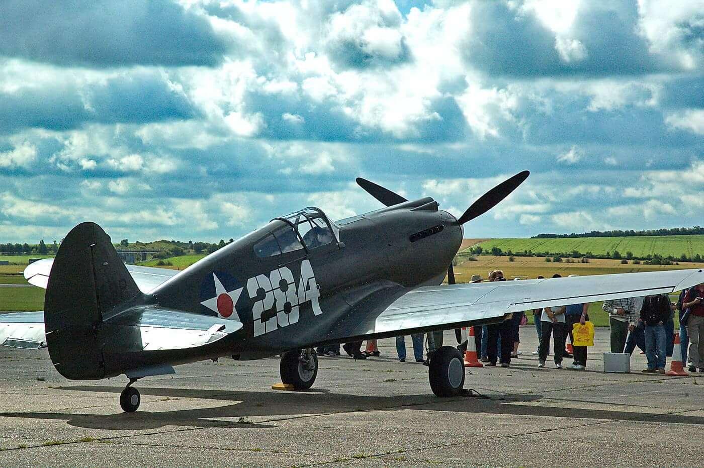 Curtiss P-40B - Warhawk 41-13297