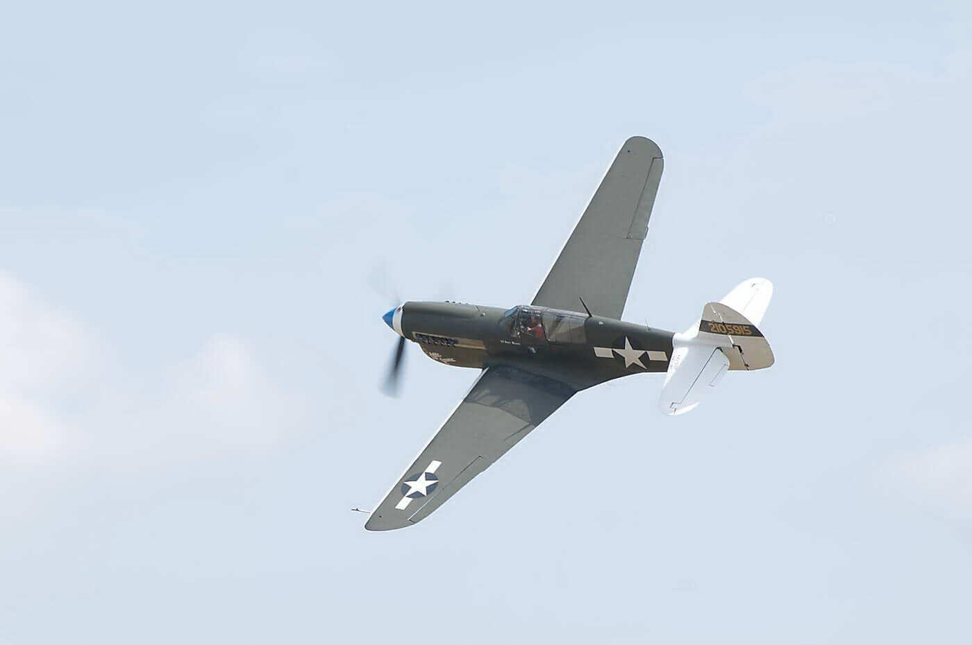 Curtiss P-40N-5 CU Warhawk