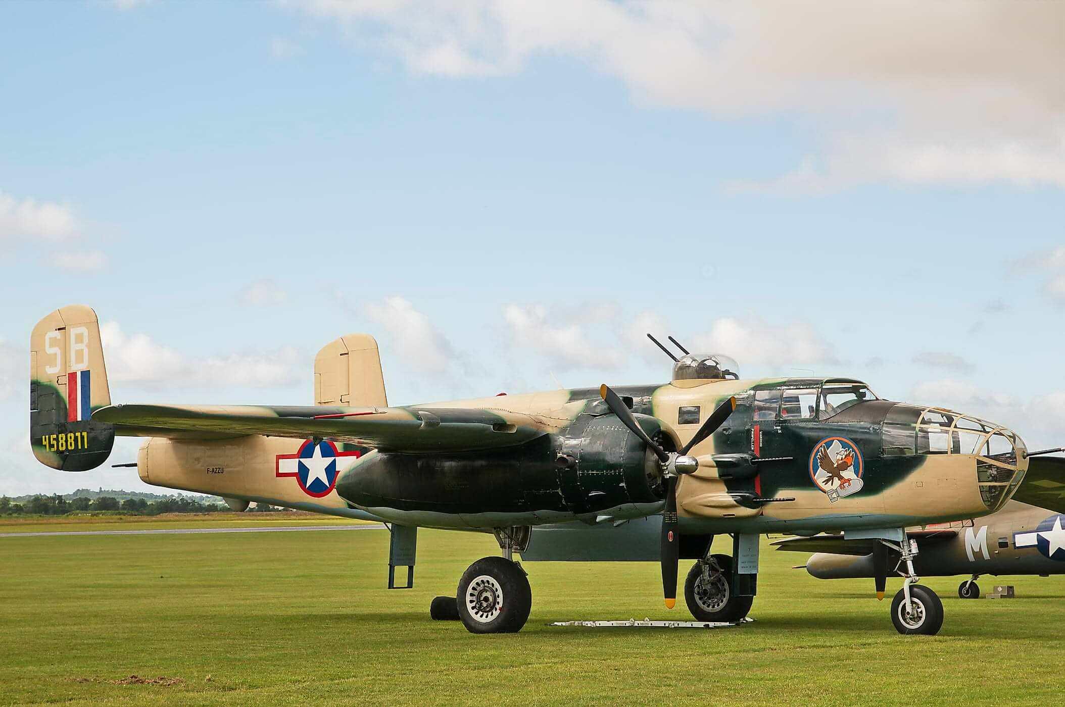 North Ameican Mitchell B-25-J35 - 45-8811