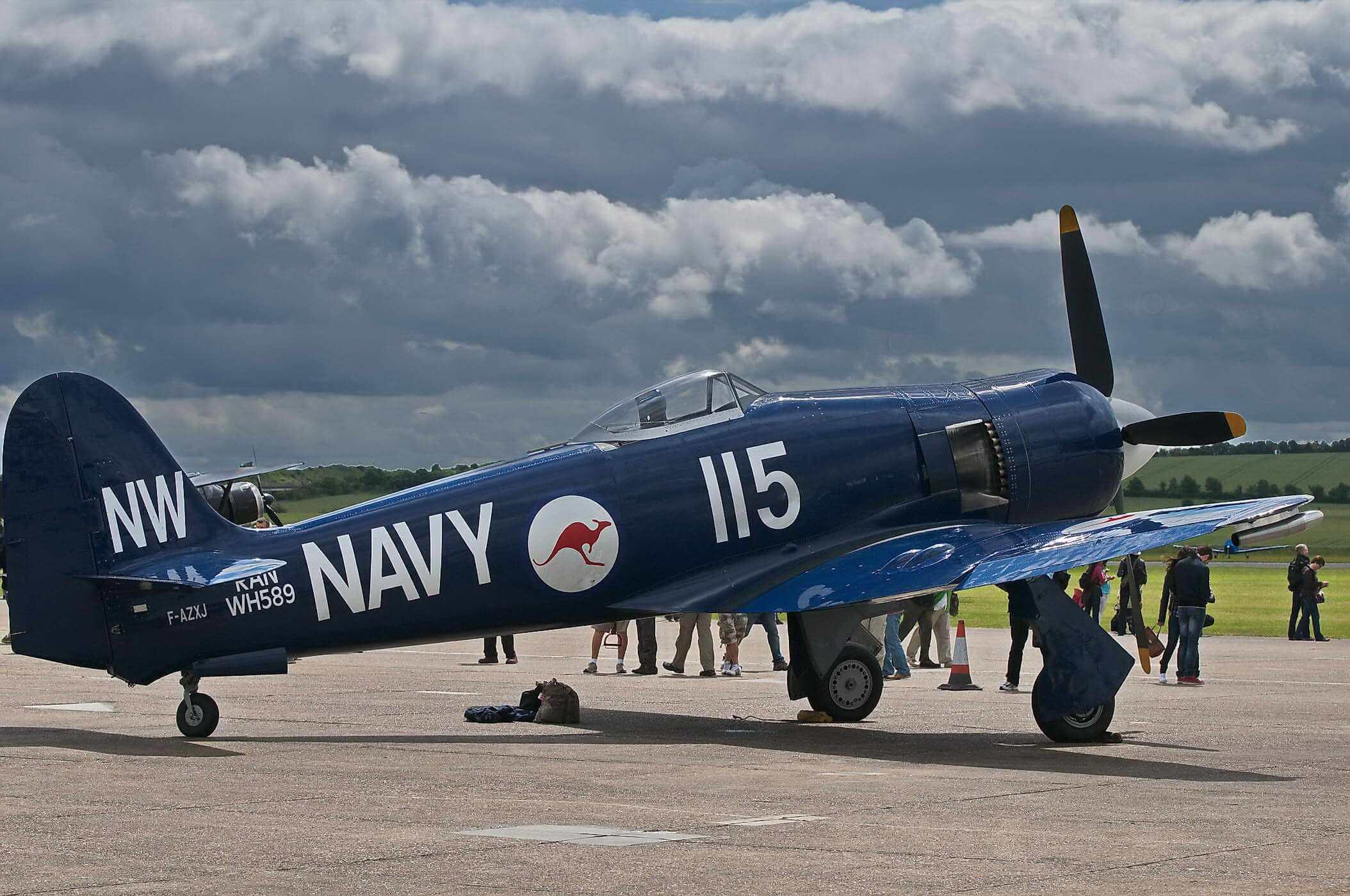 Hawker Sea Fury FB 11  F-AZXJ