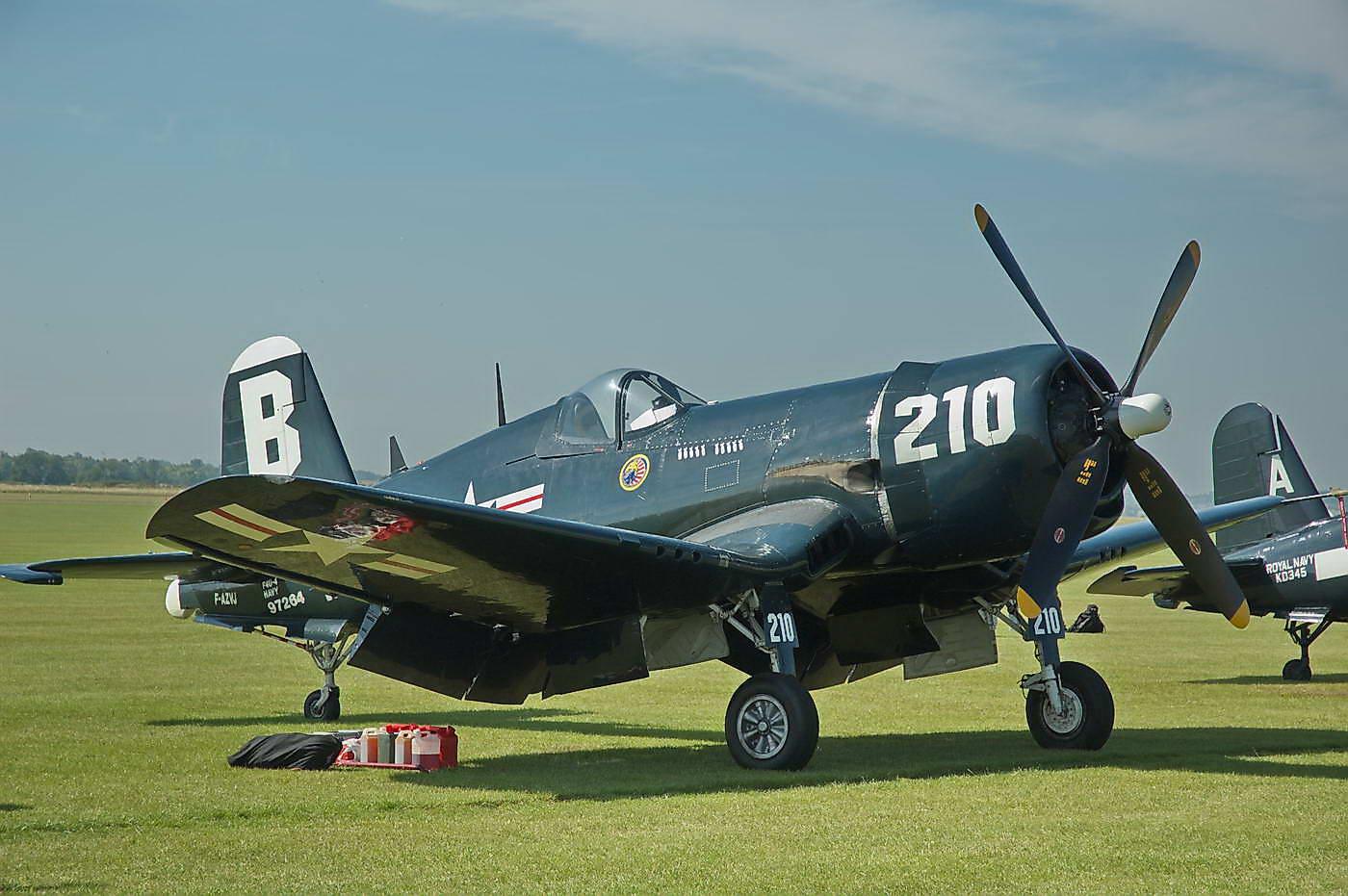 Corsair Chance Vought F4U-4 A, BuNo 97264