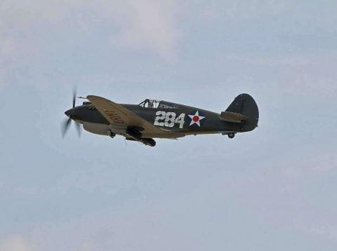 Curtiss P-40B Warhawk 41-13297