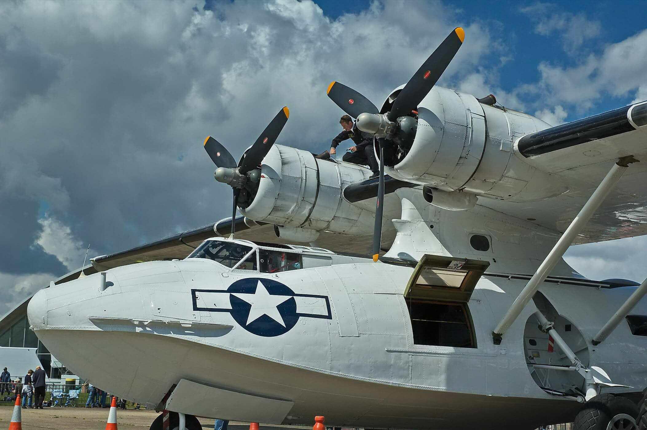 Consolidated PBY Catalina (G-PBYA)