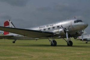 Dakota DC-3 LN-WND