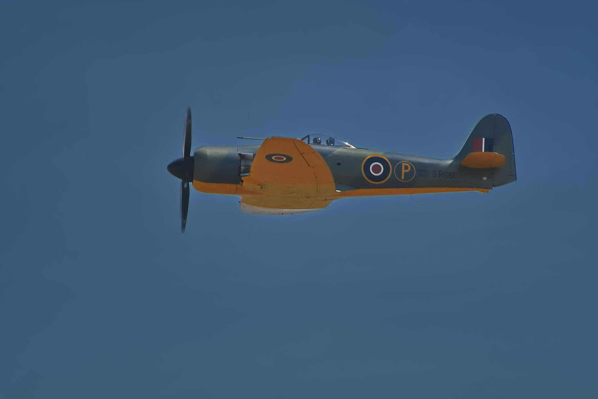 Hawker Sea Fury ISS 315