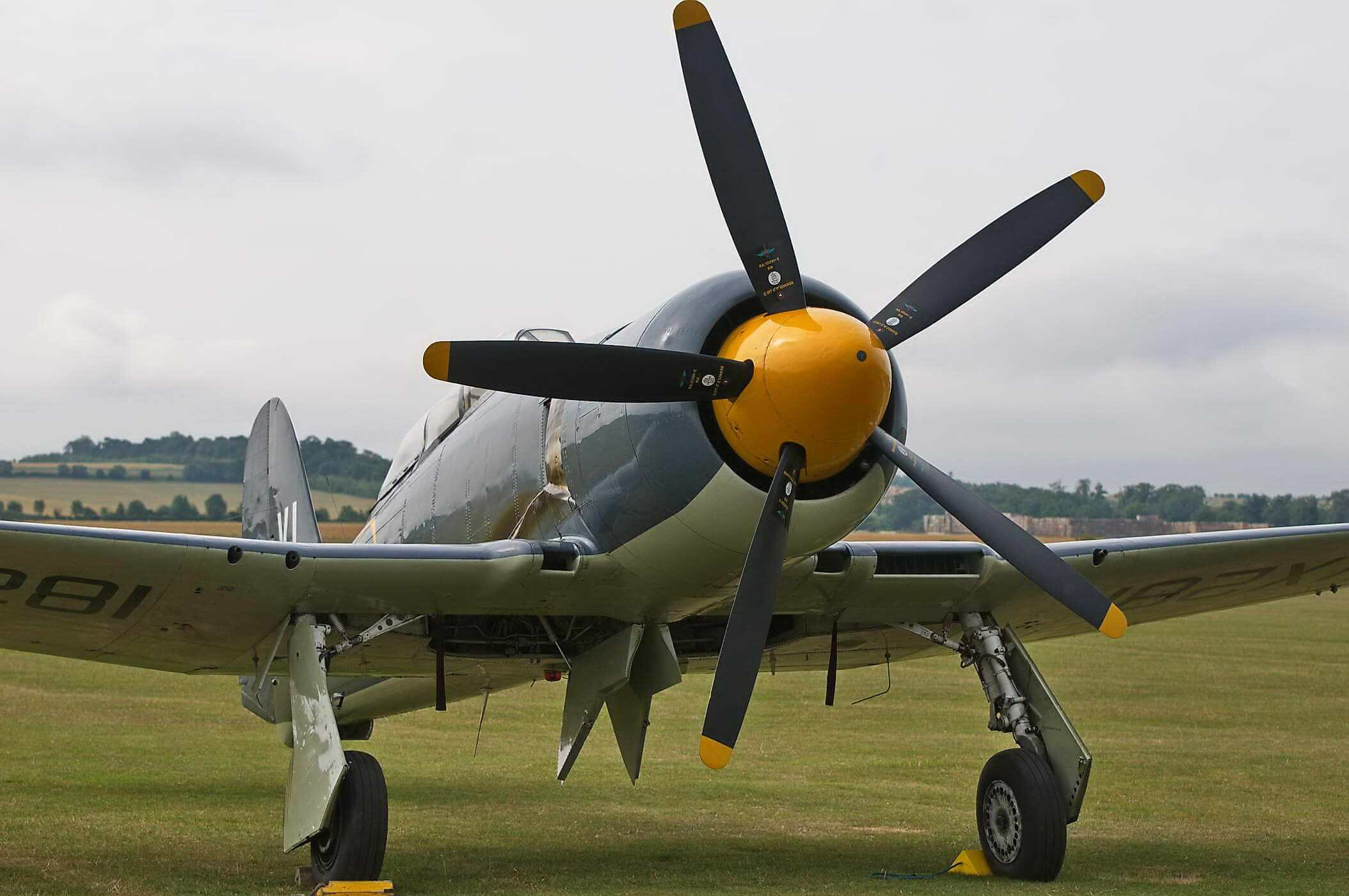 Hawker Sea Fury T 20 VX281