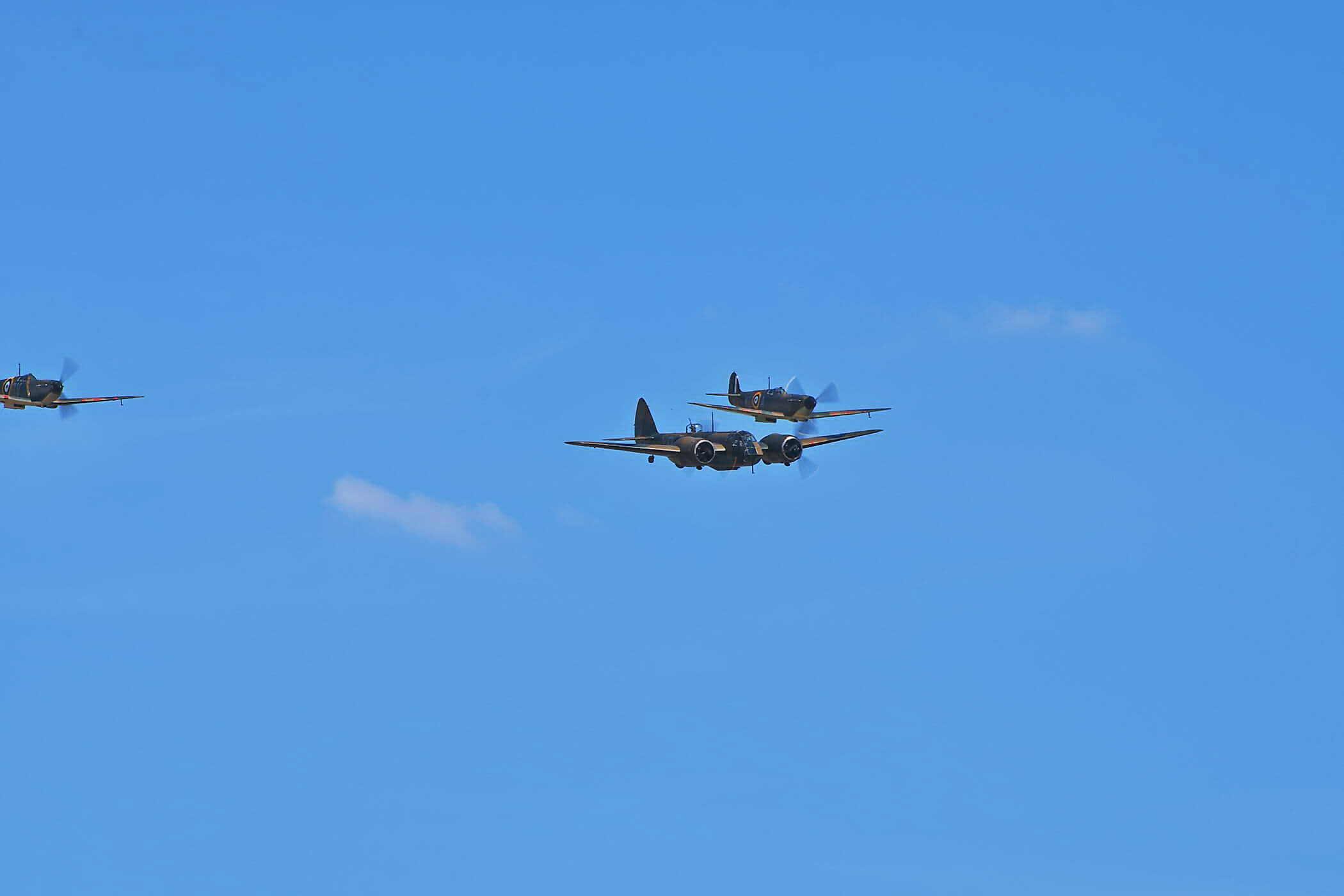 Bristol Blenheim Mk.I,, Spitfire