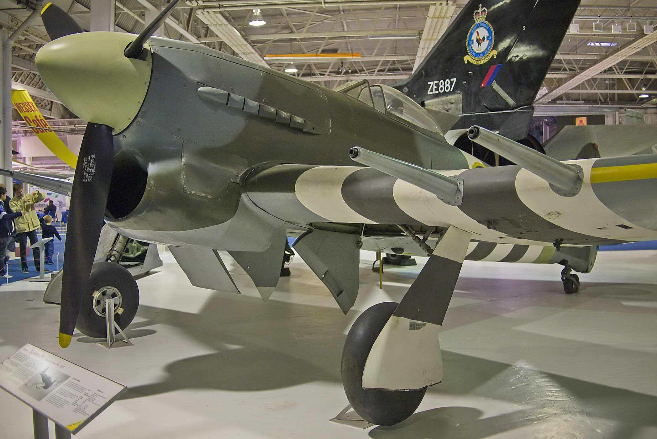 Hawker Thypoon 1B - S/N MN235