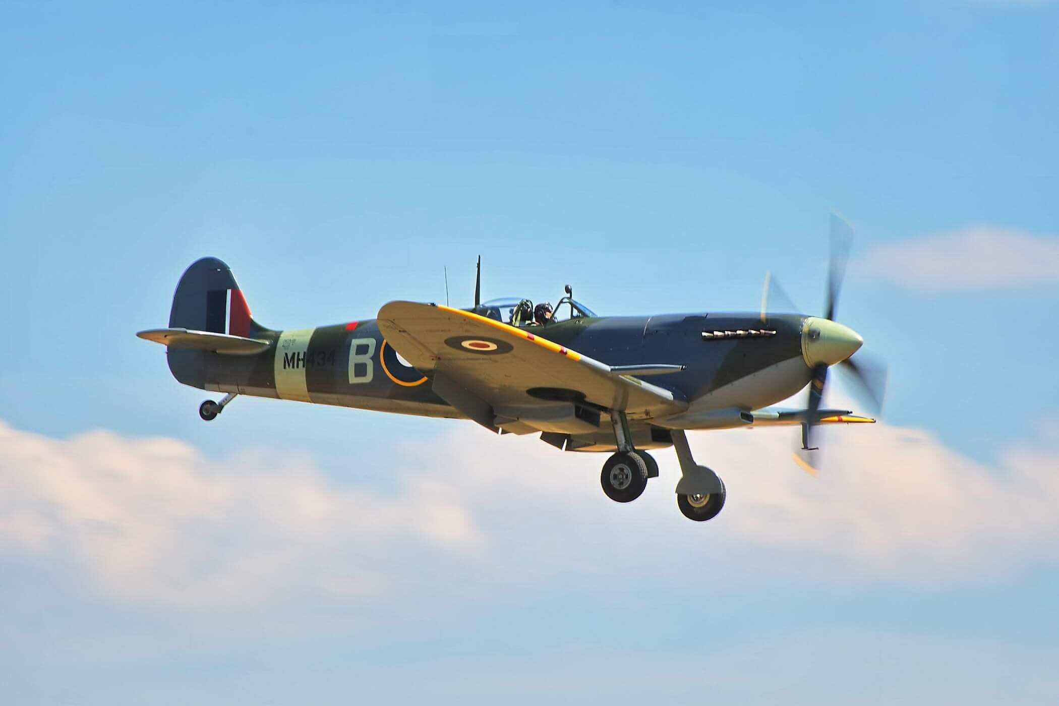Spitfire F IX MH407