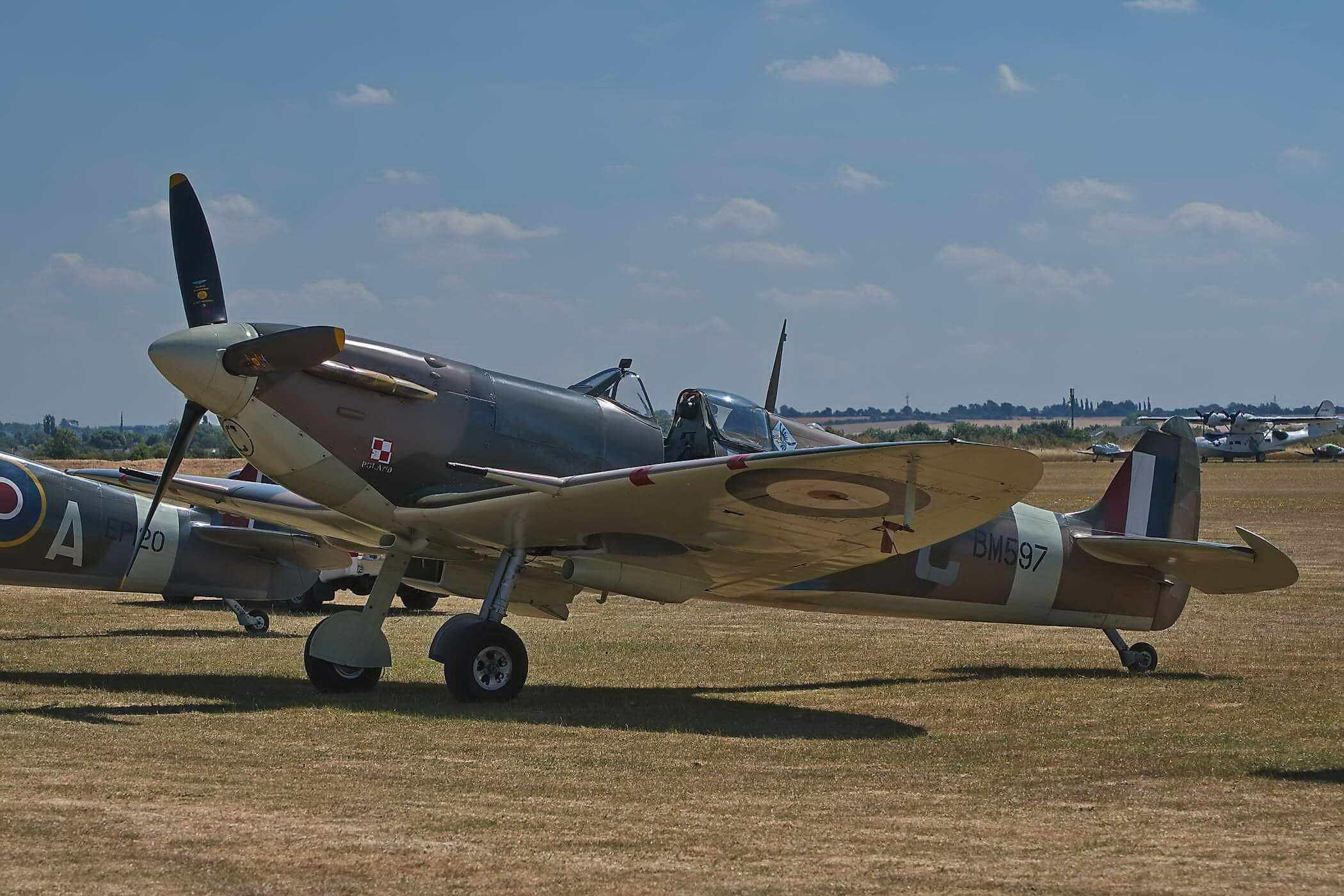 Spitfire F VB BM597