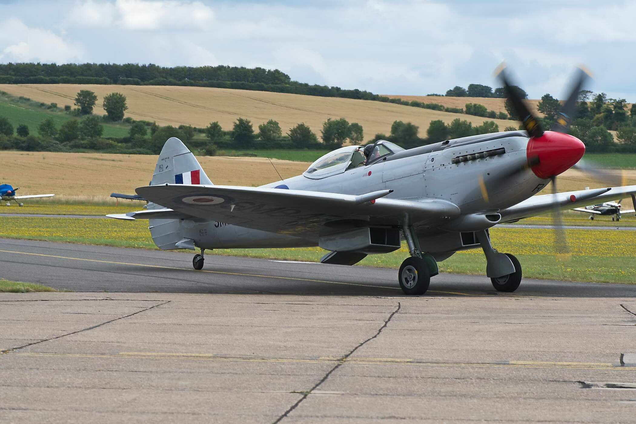 Spitfire FR XVIII SM845