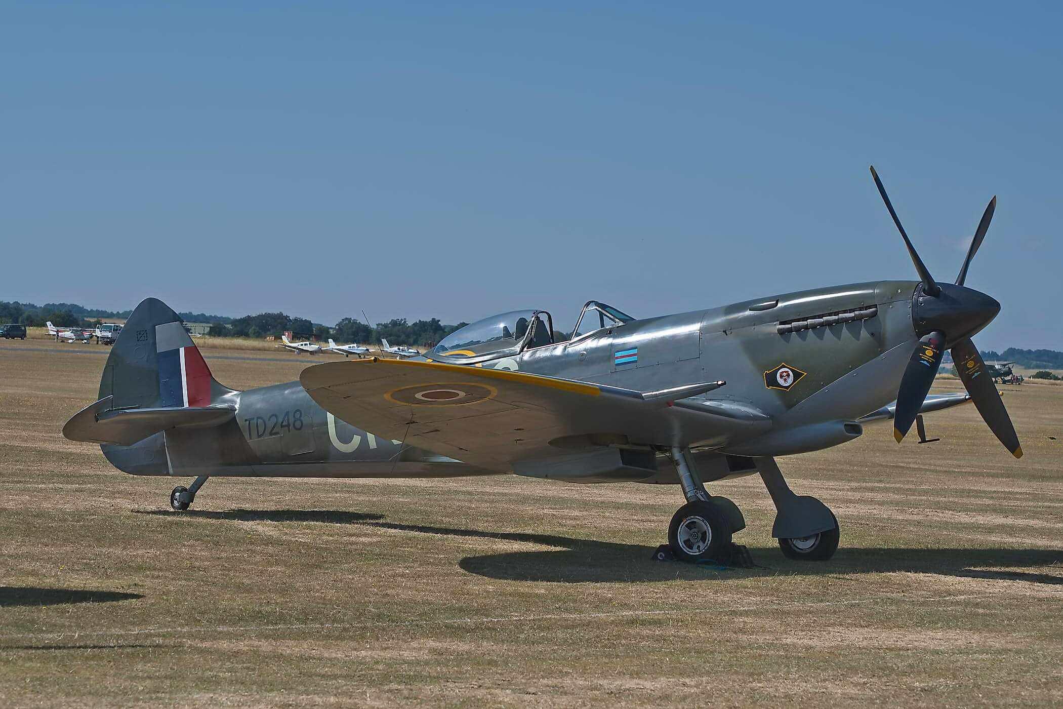 Spitfire LF XVI TD248