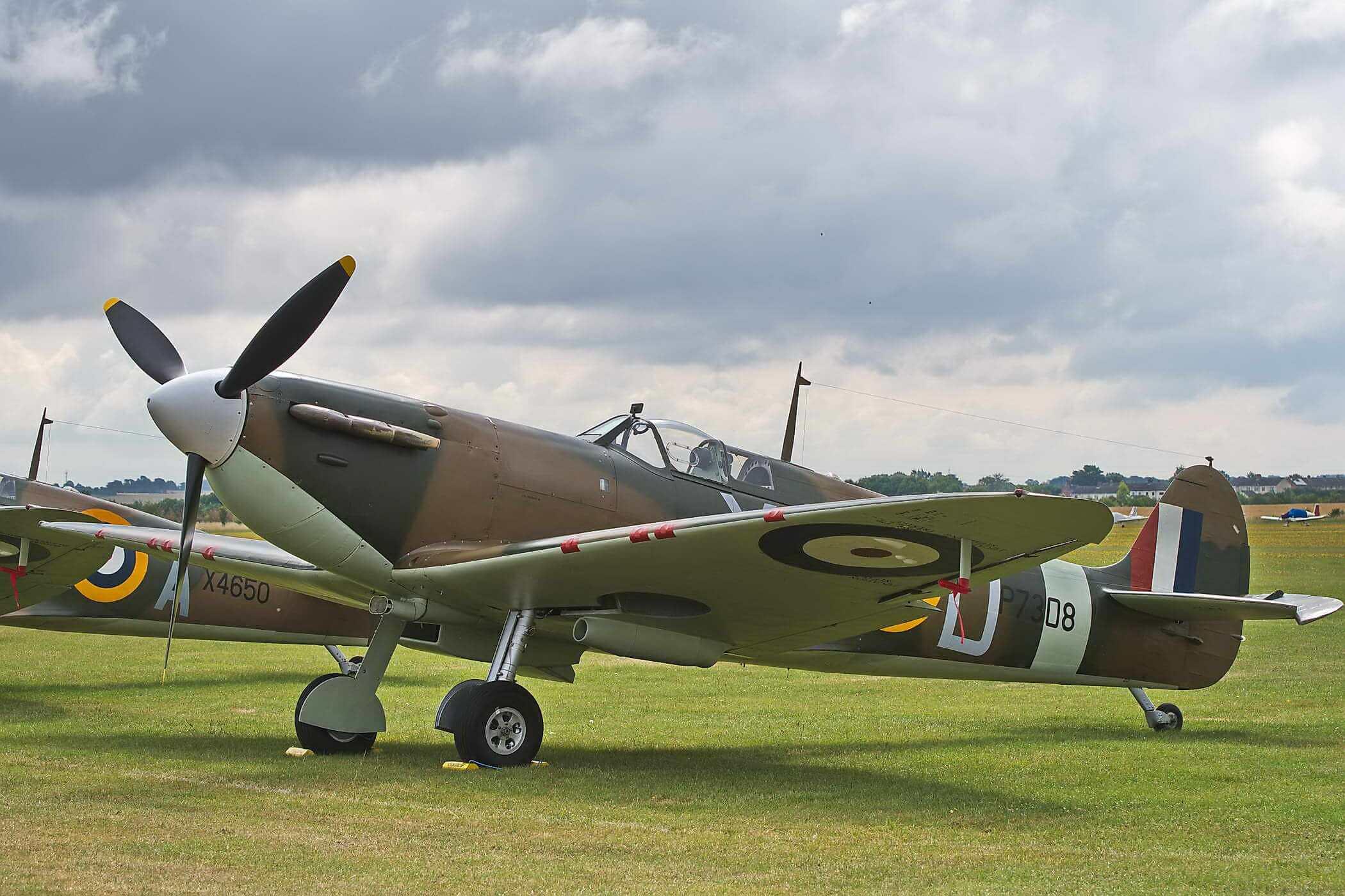 Spitfire Mk 1a, P7308
