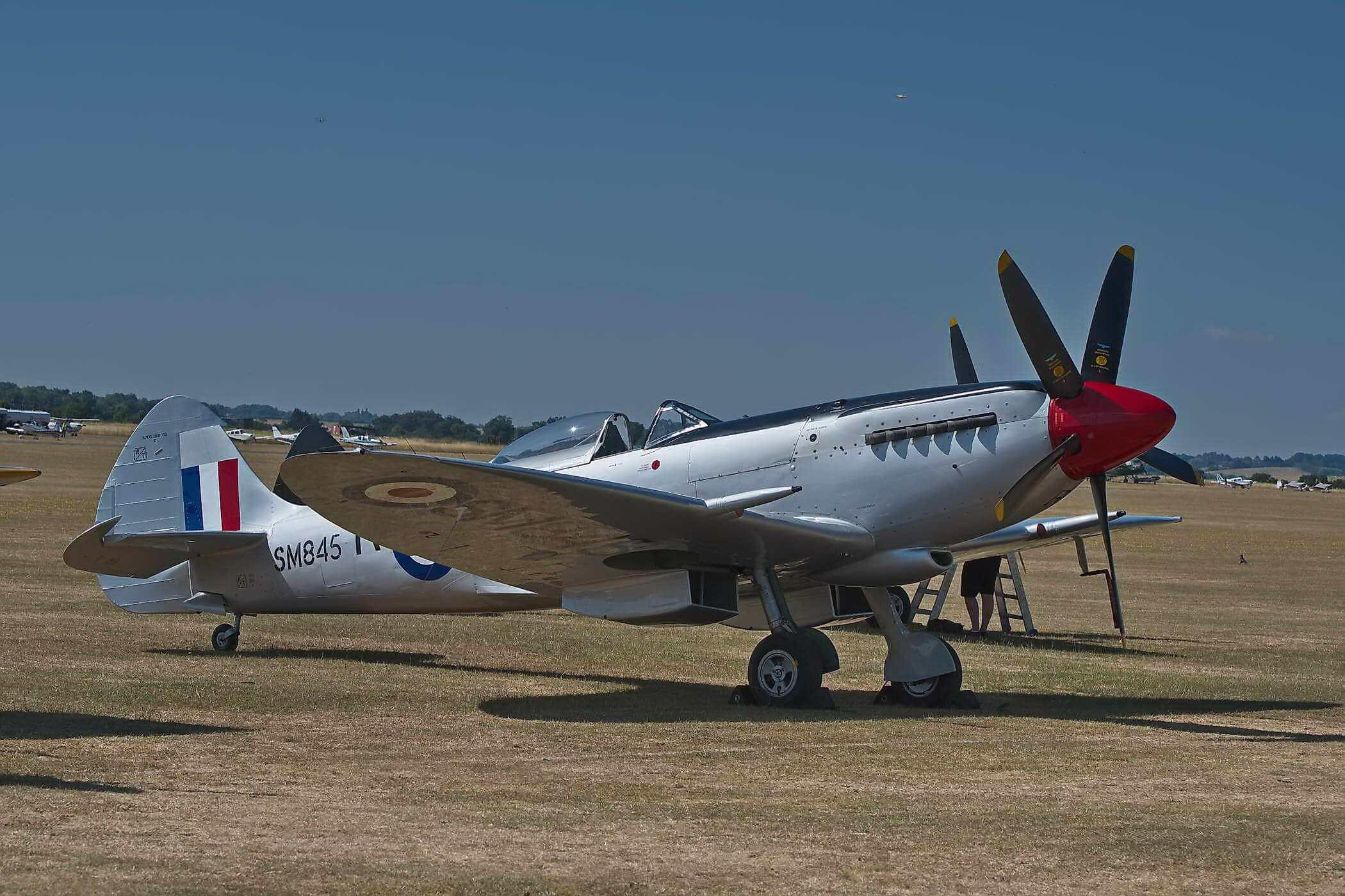 Spitfire Mk FR. XVIIIe SM845