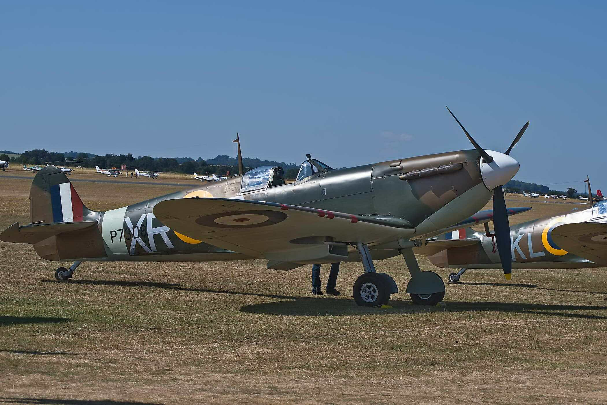 Spitfire Mk IIa P7308