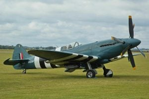 Supermarine Spitfire PR XIX PS890 - with contra-rotating propellers
