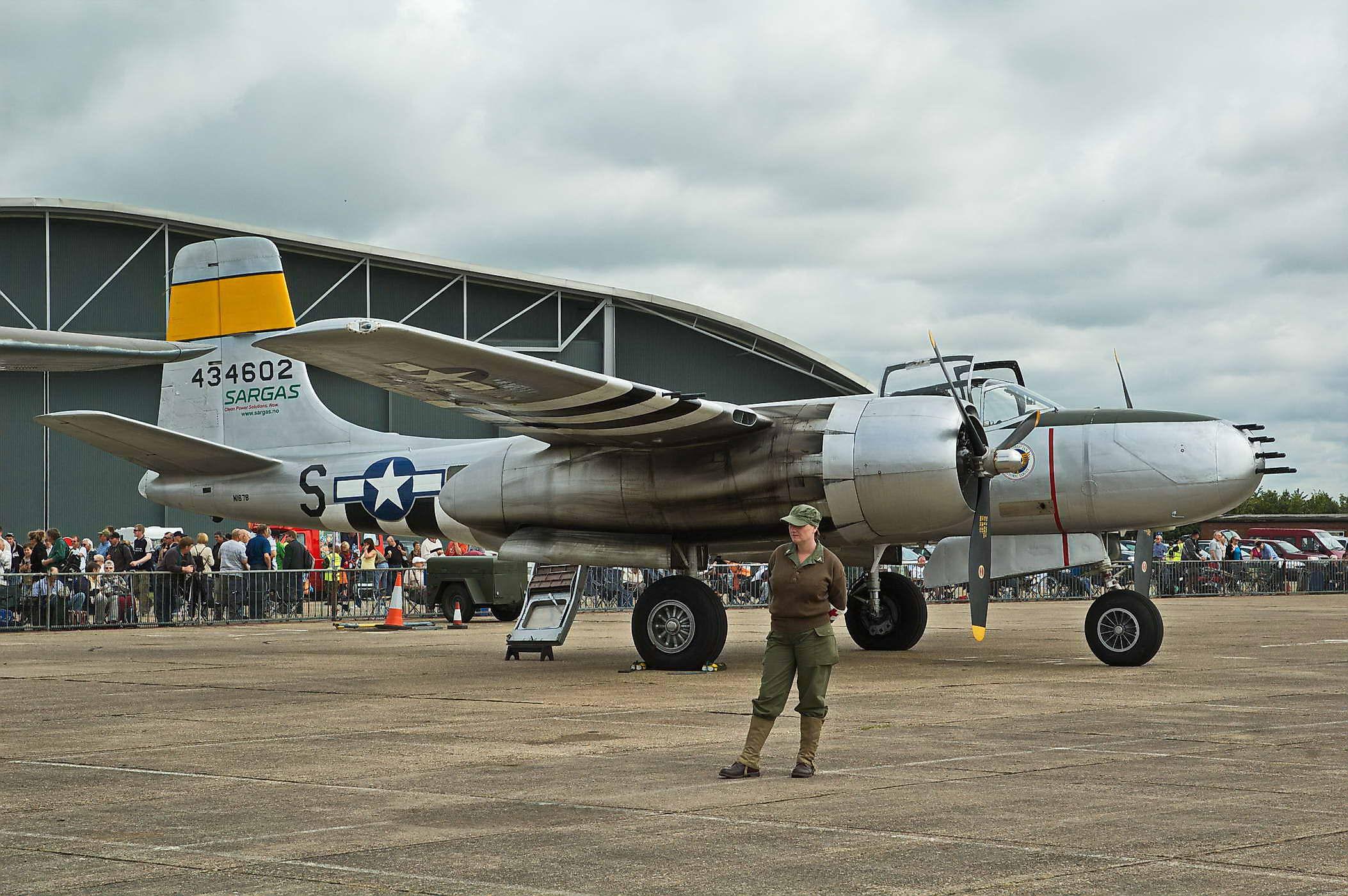 Douglas A-26B Invader 44-34602