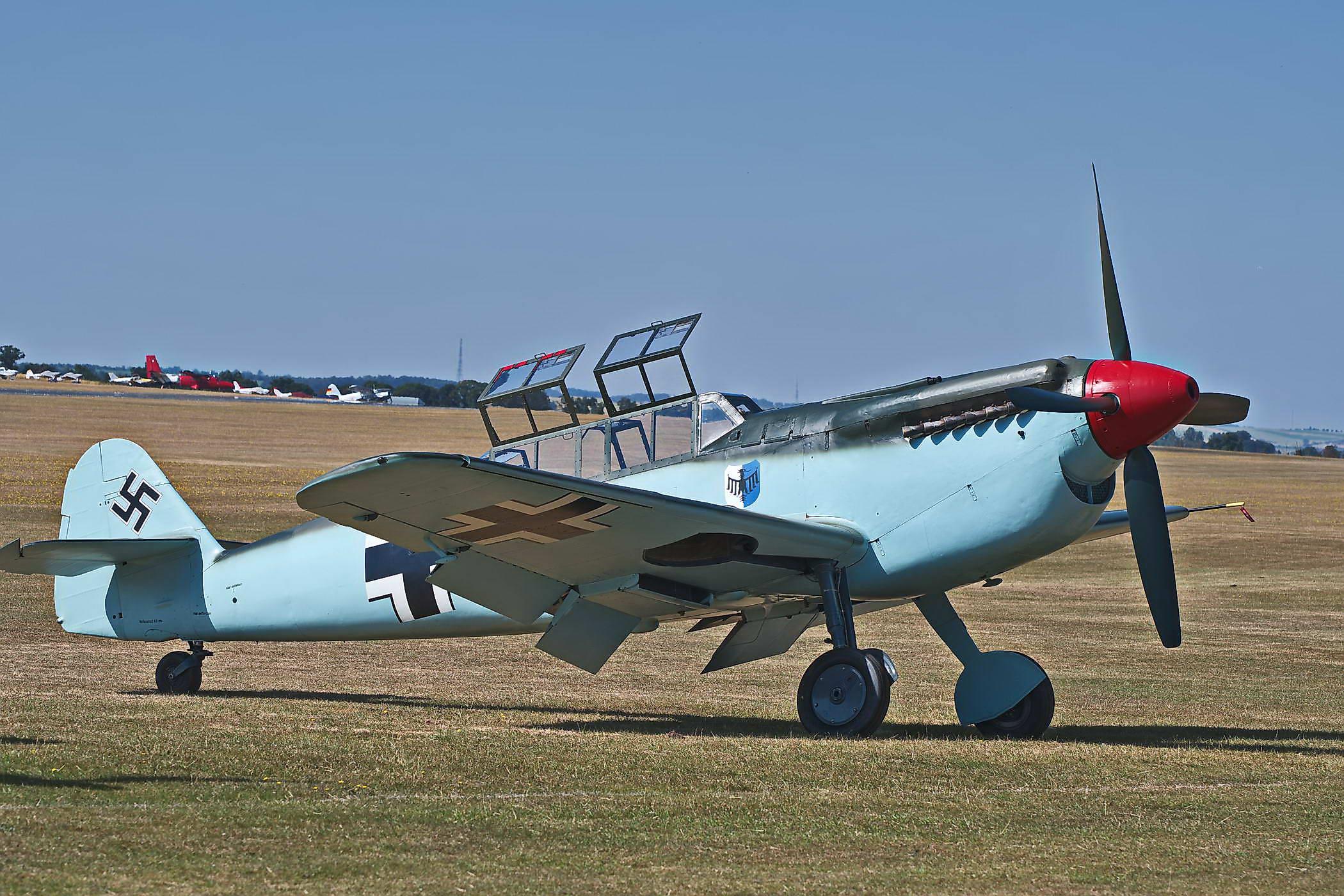 Hispano HA-112-M4L Buchon -Red 11