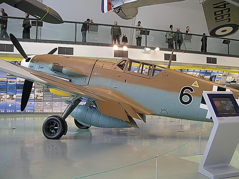 Messerschmitt Bf 109 G-2-trop Black 6 WkNr 10639