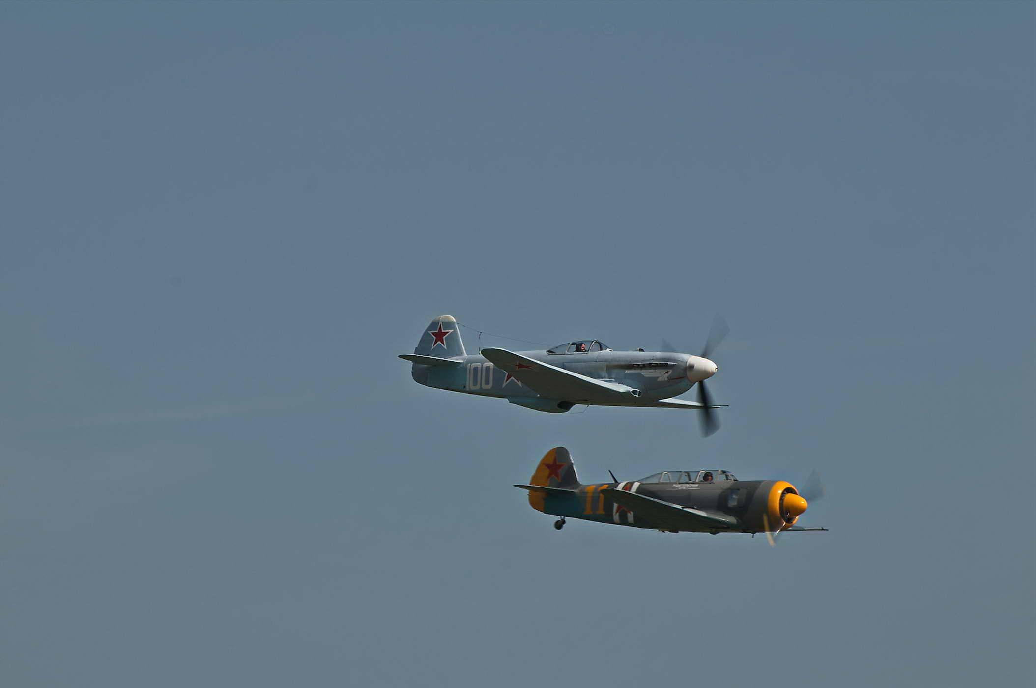 Yakovlev Yak-3 & Yakovlev Yak-11